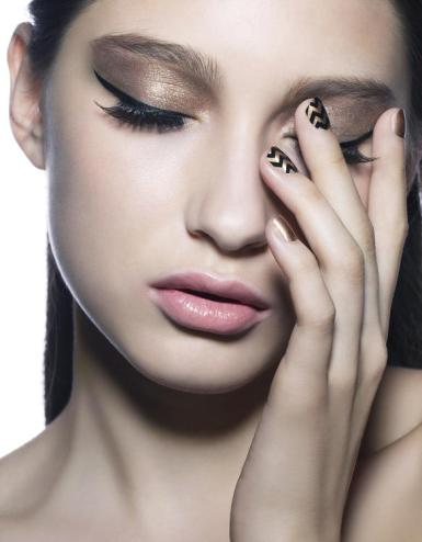 Jessica magazine Oct 17 Beauty Look