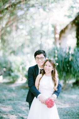 Popo & Edmund | HK prewedding - outdoor by Huge's Hue