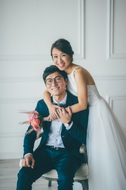 Popo & Edmund | HK prewedding - studio by Binc photograhy