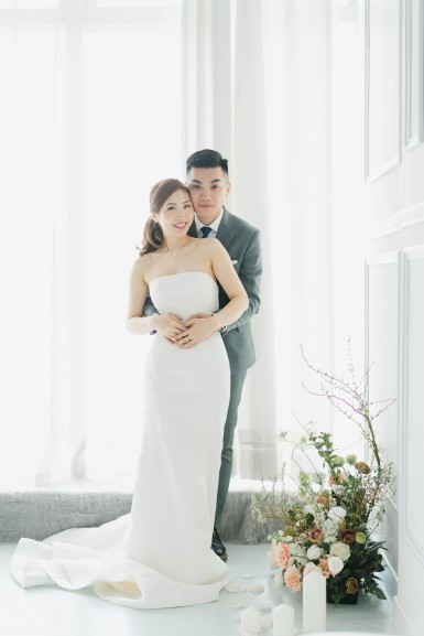 Sonia & Tom | studio shoot by Janet of Sophia Kwan Weddings