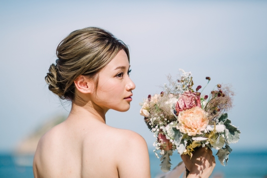 bridal portrait for Ida | Tammy Shun Photography