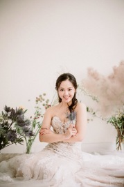 Fiona | bridal portrait | Janet of Sophia Kwan Weddings