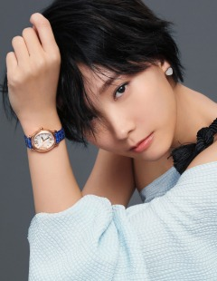 Hedwig Tam for Chopard happy diamond campaign