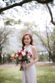 Katie & Logo | outdoor engagement by Janet @Sophia Kwan Photography