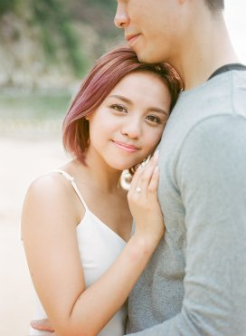 Fio & Ryan | outdoor shoot by Bobo Fong Photography